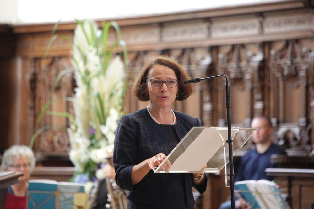 Grußwort der Oberbürgermeisterin Gertrud Maltz-Schwarzfischer
