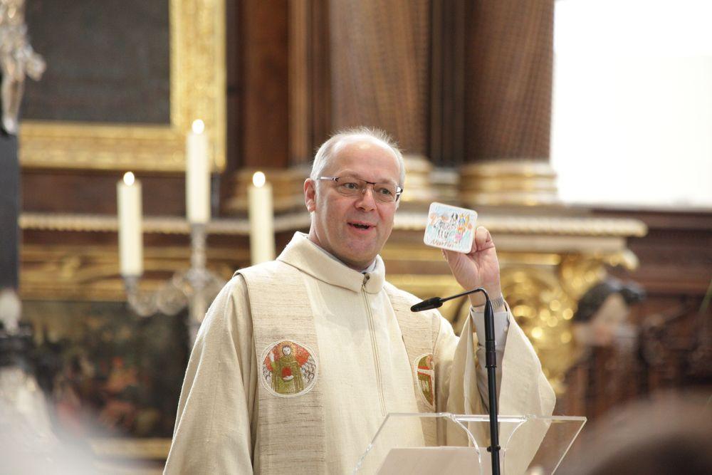 Grußwort von Pfarrer Martin Müller von Herz Jesu